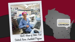 UW-Oshkosh: Home to Wisconsin's first doctoral-level nurse anesthetist program