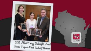 Alliant Energy Underkofler Award winners