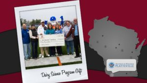 UW-Platteville's Dairy Science Program receives gift