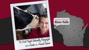 Dr. Kurt Vogel Nationally Recognized as a Leader in Animal Science