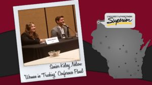 "Senior Kelsey Nelson:""Women in Trucking"" Conference Panel"
