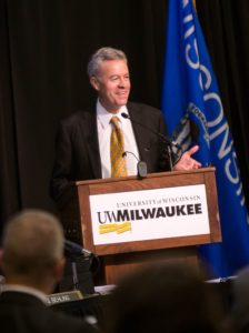 UW-Milwaukee Chancellor Mark Mone