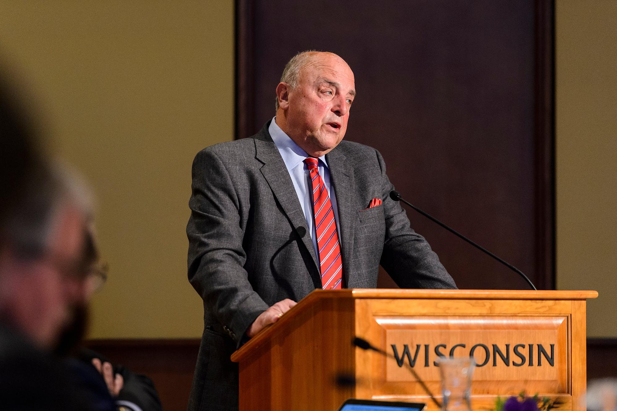 Barry Alvarez Speaking