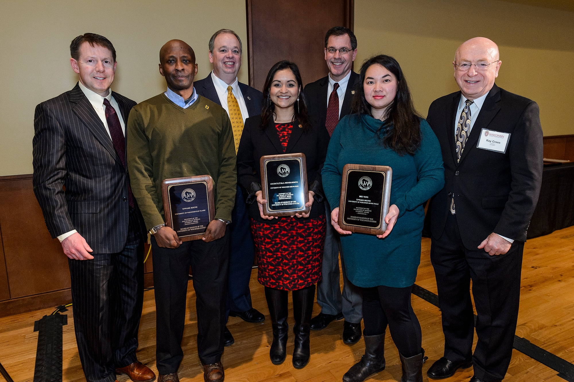 Regents' Diversity Award Winners