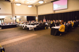 Photo of UW-Milwaukee hosting the Board of Regents June 2018 meeting