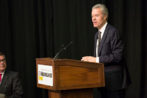 Photo of UW-Milwaukee Chancellor Mark Mone