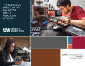 Cover of 2018 UW System Economic Impact Study