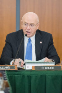 Photo of President Cross
