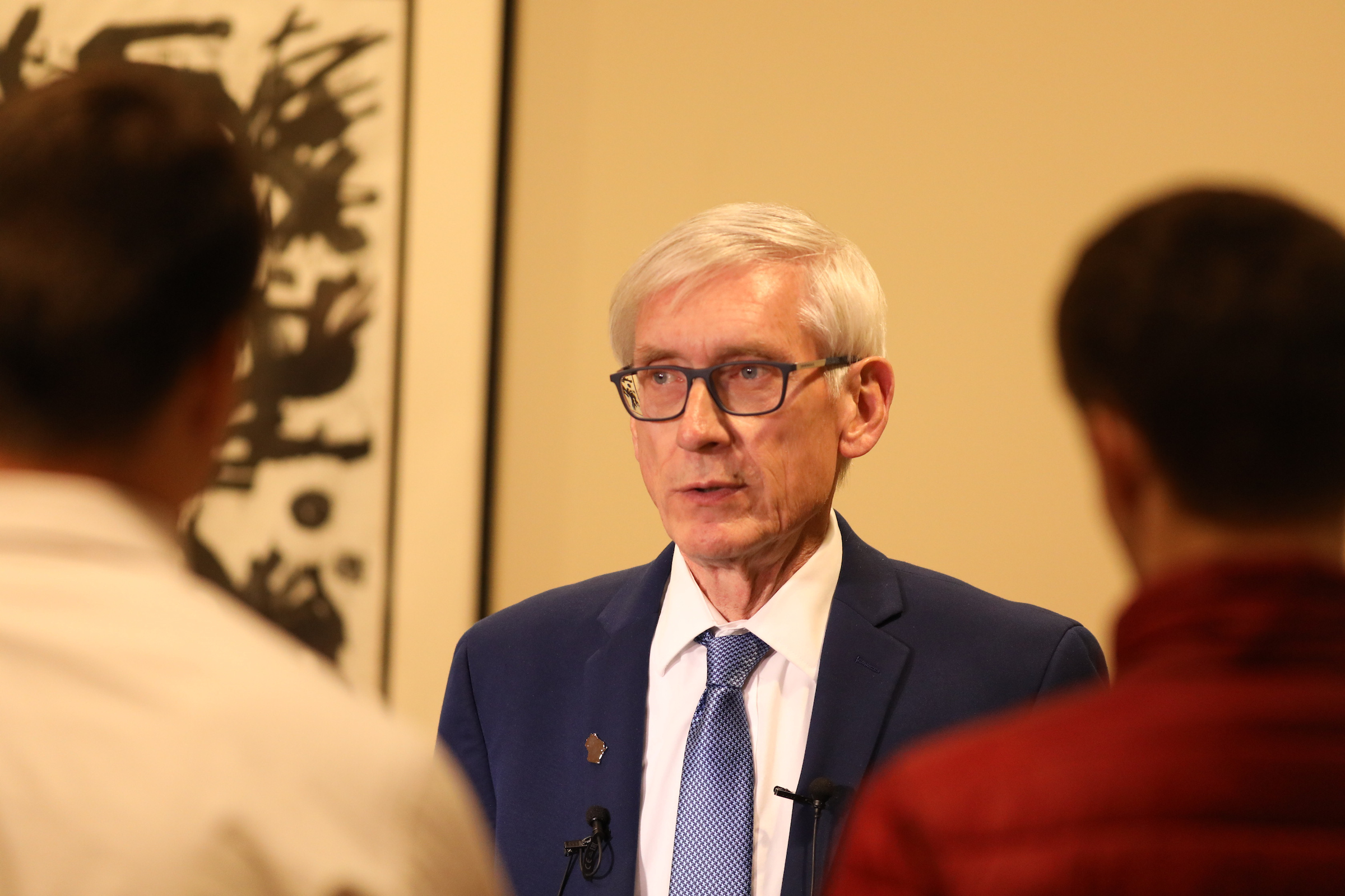 Photo of Regent and Governor-elect Tony Evers taken at UW System Board of Regents meeting hosted by UW-La Crosse in December 2018