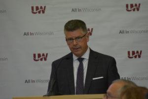 Photo of Regent President Andrew S. Petersen
