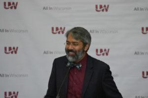 Photo of Dr. Dipesh Navsaria, Department of Pediatrics, UW-Madison's School of Medicine & Public Health