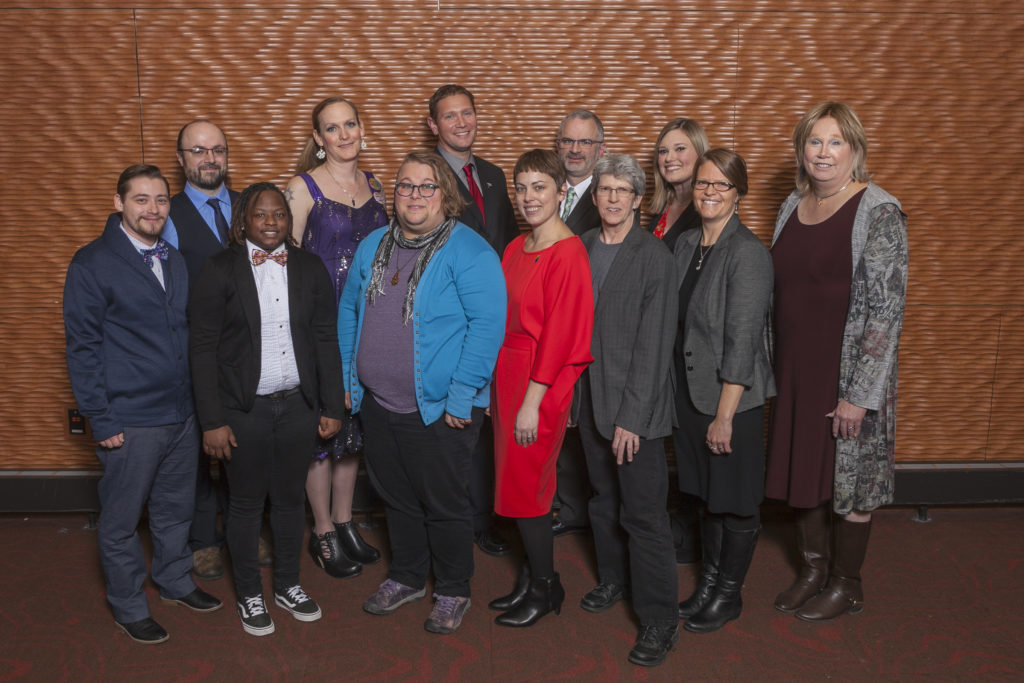 Photo of 2019 recipients of the Dr. P.B. Poorman Award