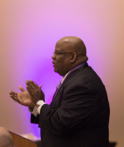 Photo of UW-Whitewater Chancellor Dwight Watson