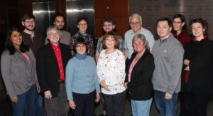 Photo of members of the UW-Madison Department of Chemistry Climate and Diversity Committee, UW-Madison