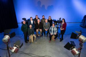 Photo of UW Oshkosh Department of Radio TV Film faculty