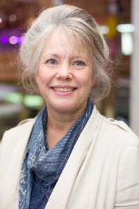 Photo of Dr. Deb Pearson, a faculty member who teaches for UW-Green Bay's Nutrition Sciences/Dietetics program