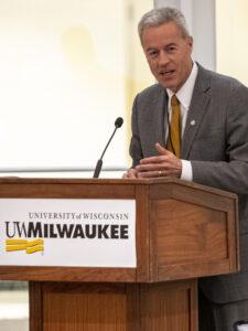 Photo of UW-Milwaukee Chancellor Mark Mone