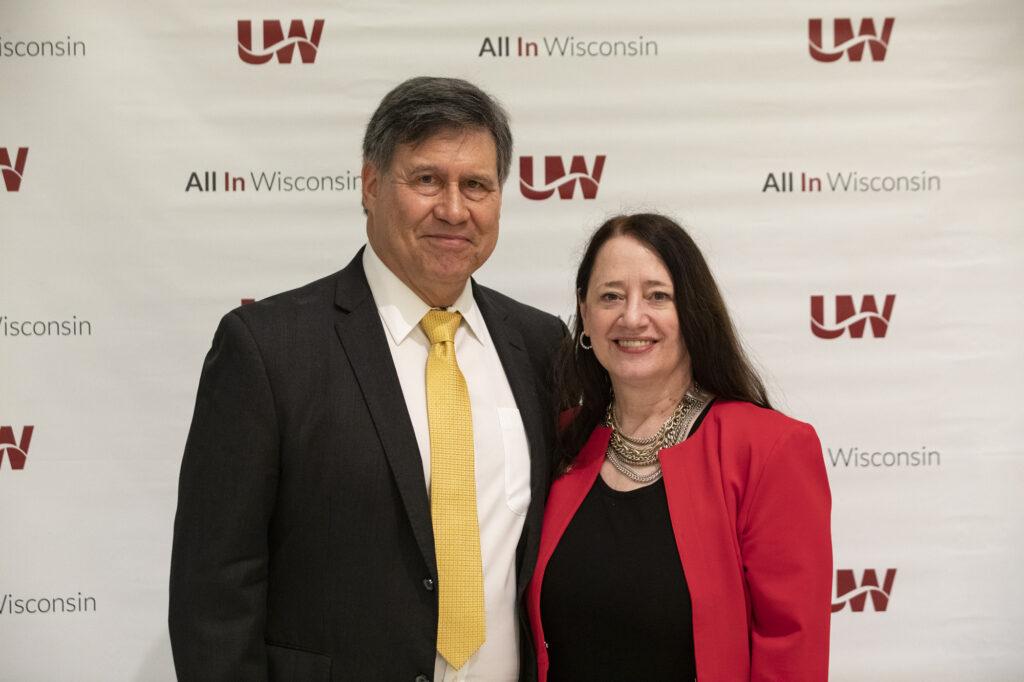 Photo of Regent President Edmund Manydeeds III and Regent Vice President Karen Walsh
