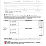EPIC Beneficiary Designation Form