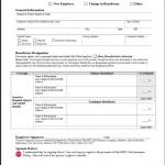 EPIC Beneficiary Designation Form