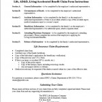 EPIC Accelerated Benefit Claim Form