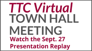 September 27 town hall meeting replay ad