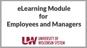 eLearning module for employees and managers