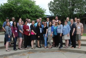 group photo of the Wisconsin Teaching Fellows & Scholars at Faculty college 2018