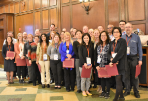 WTFS 2018-19 Group photo with certificates