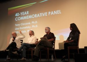 40 Year Commemorative Panel with Lisa Kornetsky, Bill Cerbin, Tony Ciccone, Fay Akindes the Moderator
