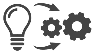 Project execution graphic