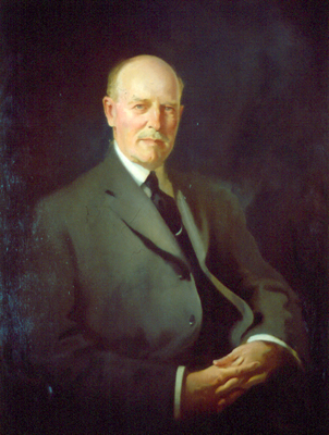 Oil painting of Thomas Brittingham, Sr., by J. C. Johansen.