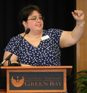 Library Director Paula Ganyard