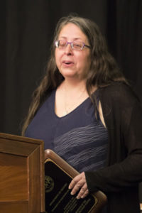 Photo of Dr. Heidi Sherman, chair of UW-Green Bay's History Department