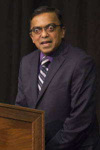 Photo of Dr. Kirthi Premadasa, associate professor of mathematics at UW-Baraboo/Sauk County
