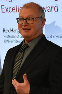 Photo of Dr. Rex Hanger, recipient of 2019 Teaching Excellence Award