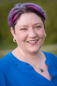 Photo of Dr. Malia Jones, UW-Madison, recipient of Board of Regents Academic Staff Excellence Award for 2021
