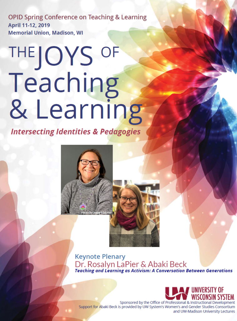 OPID 2019 Spring Conference Program Cover with Keynote headshots