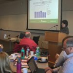 Tammy McGuckin of UW-Parkside speaking at UW System Fall Advising Workshop October 2018 at the Pyle Center in Madison Wisconsin