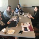 UW-Eau Claire team at the UW System Fall Advising Conference in Pyle Center Room 325 in Madison Wisconsin