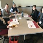 UW-Eau Claire team posed at the UW System Fall Advising Workshop October 2018