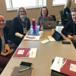 UW-Green Bay team posed at the UW System Fall Advising Workshop October 2018