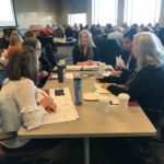 UW-Madison team working at the UW System Fall Advising Workshop October 2018
