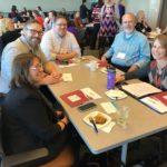 UW-Oshkosh team posed at the UW System Fall Advising Workshop October 2018