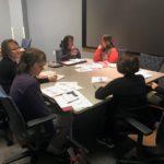 UW-Platteville team working at UW System Fall Advising Workshop October 2018