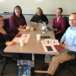 UW System team including Laura Kite and colleagues at the Fall Advising Workshop October 2018