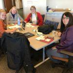 UW-Stout team posed at UW System Fall Advising Workshop October 2018