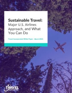 Sustainable Travel: Travel Incoporated Whitepaper