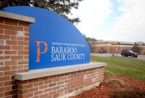 UW-Platteville Baraboo Sauk County campus sign