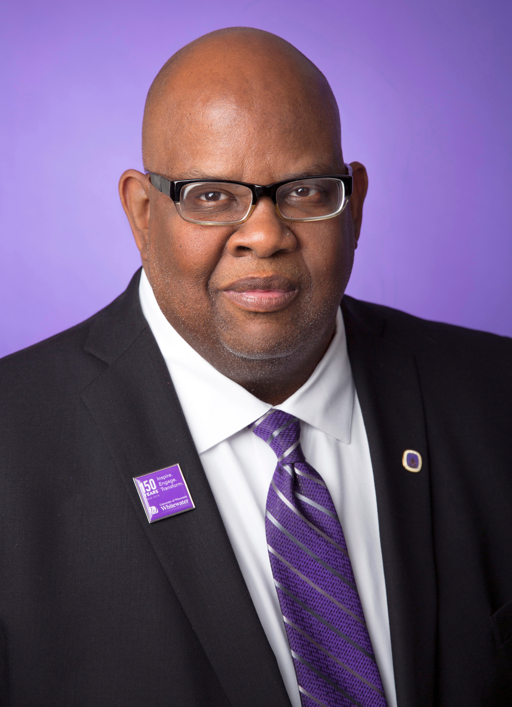 Photo of UW-Whitewater Chancellor Dwight C. Watson